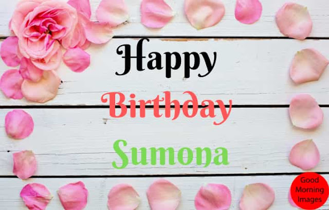 Birthday cake images with name sumona