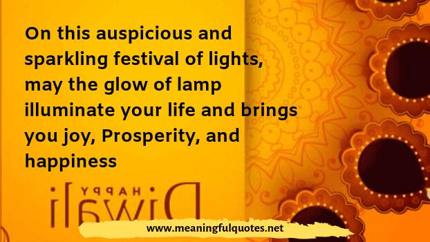 Diwali wish quotation