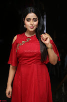 Poorna in Maroon Dress at Rakshasi movie Press meet Cute Pics ~  Exclusive 108.JPG