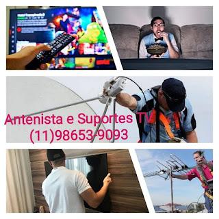 Antenista Zona norte Sp instalador de antenas cameras e suporte de tv