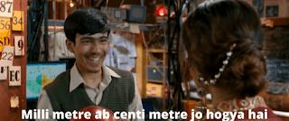 Pehchaanoge bhi kaise, Milli meter ab centi metre jo hogya hai | 3 idiots meme templates