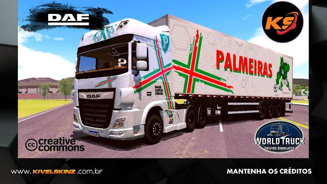 DAF XF - SOCIEDADE ESPORTIVA PALMEIRAS