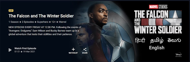 Review- The Falcon and the winter soldier
