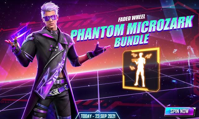 Bundle FF Terbaru Phantom Microzark emote Debugging