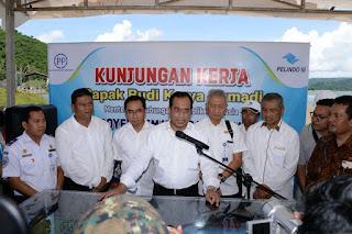 Menhub Minta Pelindo III Percepat Operasional Pelabuhan Gili Mas