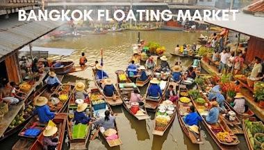 Bangkok Floating Market Tour & Train Market Tour