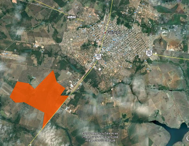 Area a venda em Gurupi Tocantins para edificar