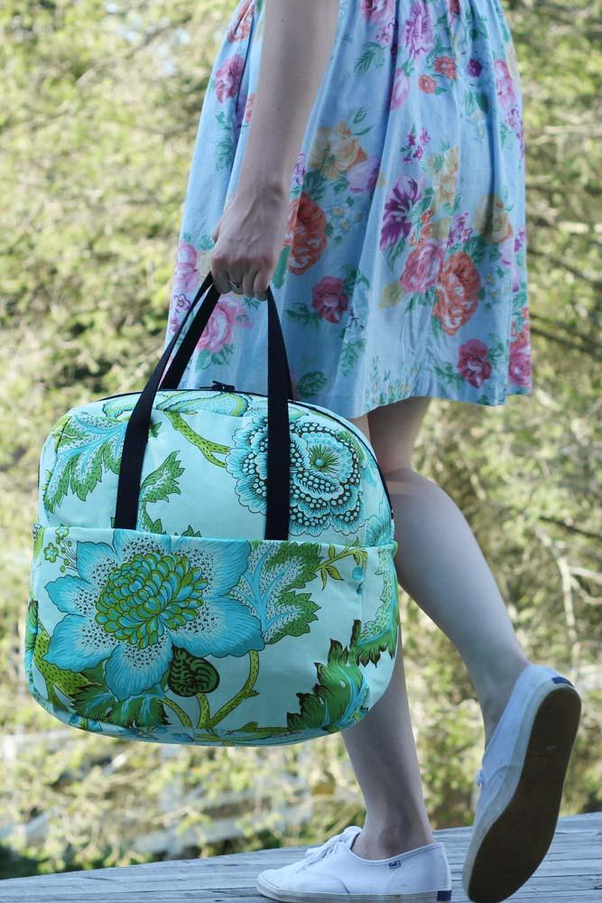 Weekender Travel Bag. Tutorial & Pattern