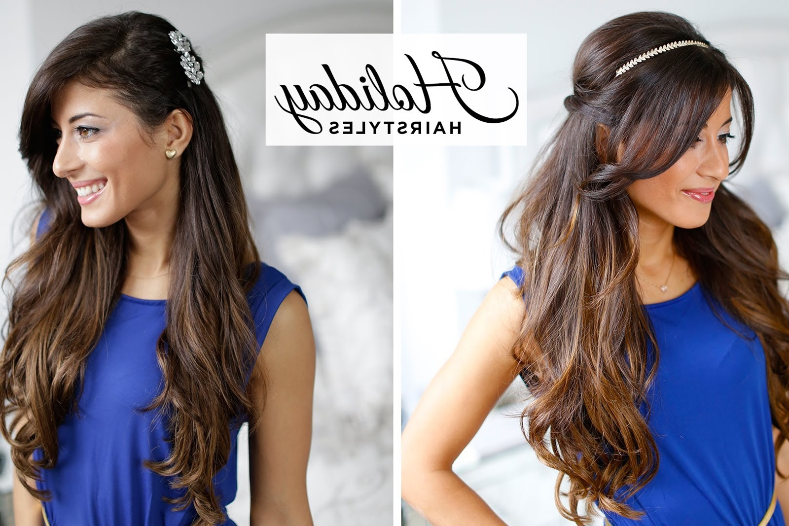 Learn How To Get Simple Straight Hair And Headband Hair