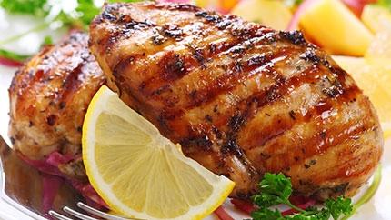 طبق الدجاج المشوى