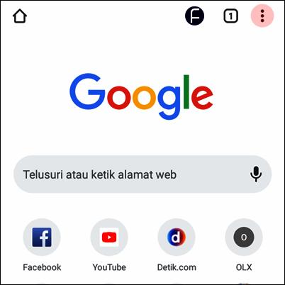 Cara Mengaktifkan Dark Mode atau Mode Gelap di Google Chrome Android