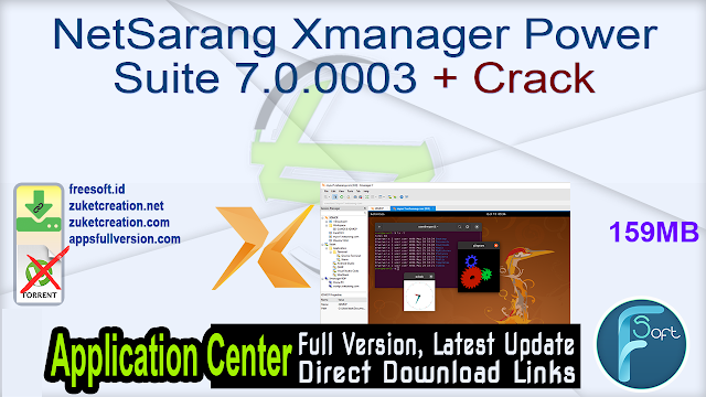 NetSarang Xmanager Power Suite 7.0.0003 + Crack