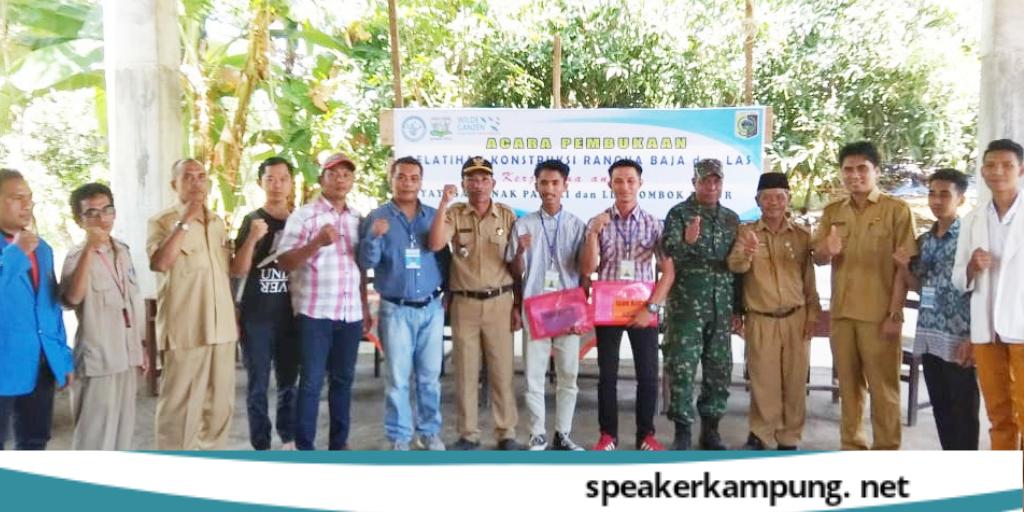 Tukang Baja Ringan Lombok Yap Launching Kursus Gratis Kontruksi Rangka Dan Las