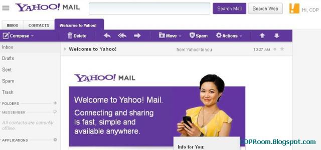 Cara Buat Email Yahoo Baru