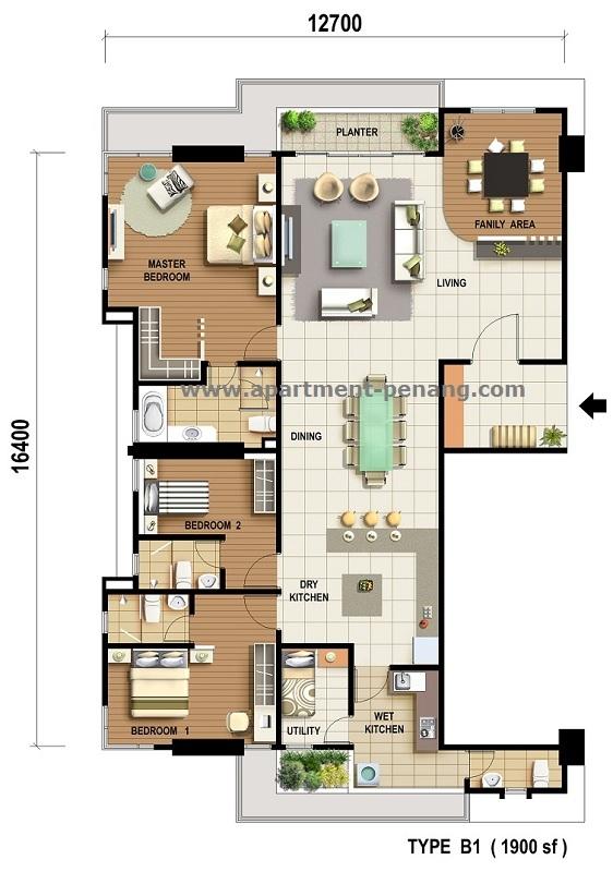 The Cantonment Condominium Apartment Penang Com