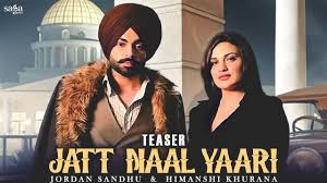 Jatt Naal Yaari Lyrics By Jordan Sandhu