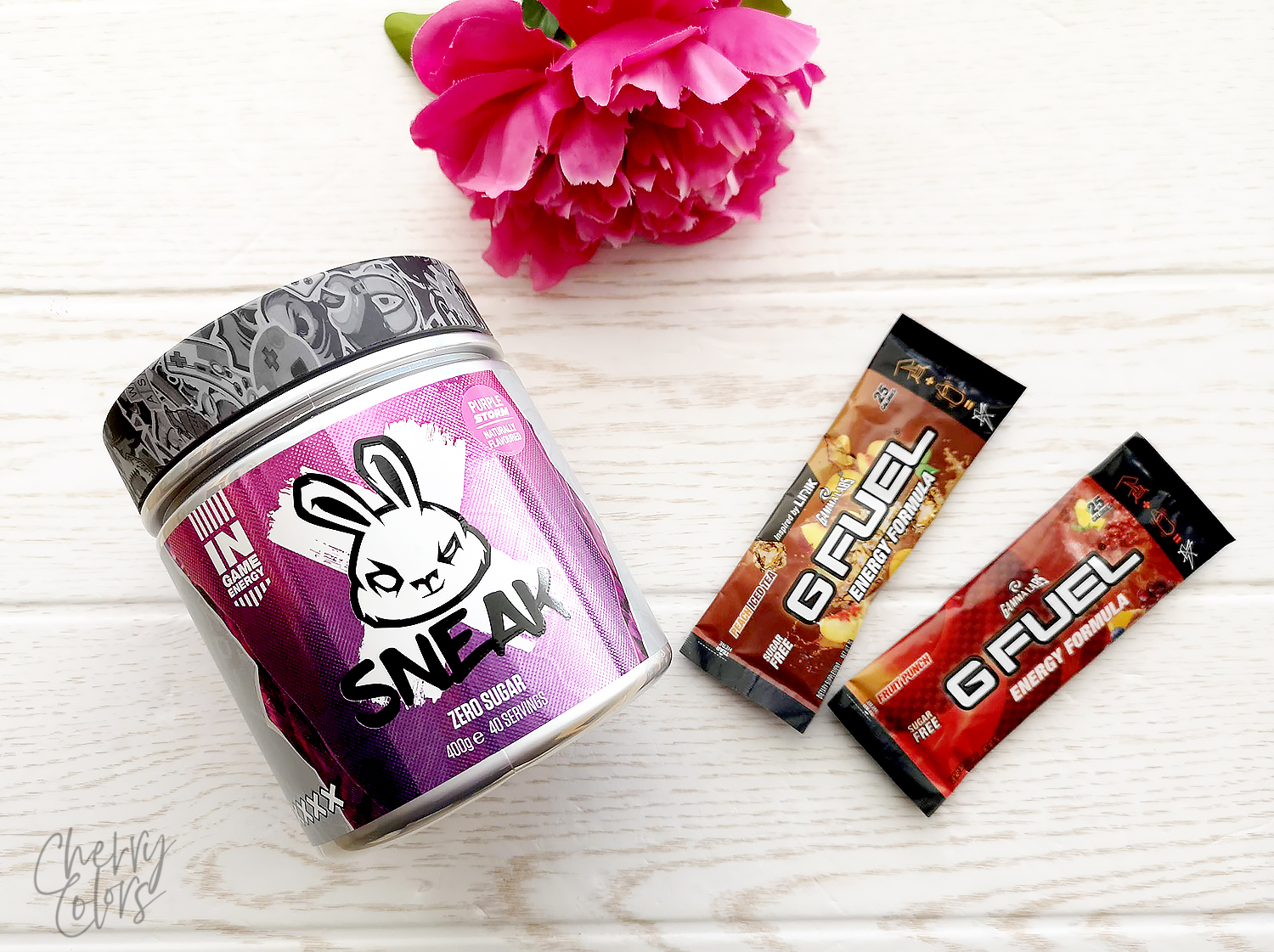 GFUEL vs SNEAK Energy Formula