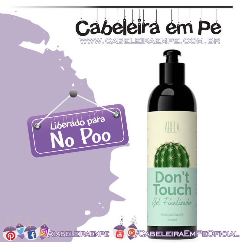 Gel Finalizador Dont Touch - Abela (No Poo)