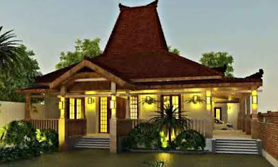 Desain rumah minimalis ala Bali