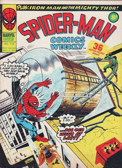 Spider-Man Comics Weekly #113, Dr Octopus