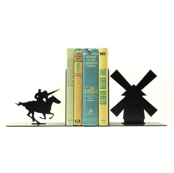 Don Quixote Bookends