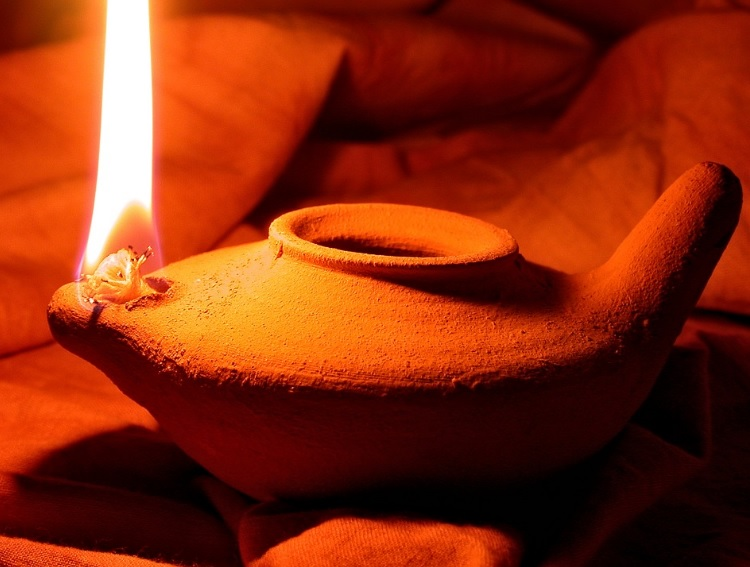 African Clay Oil Lamp Tutorial Chic African Culture