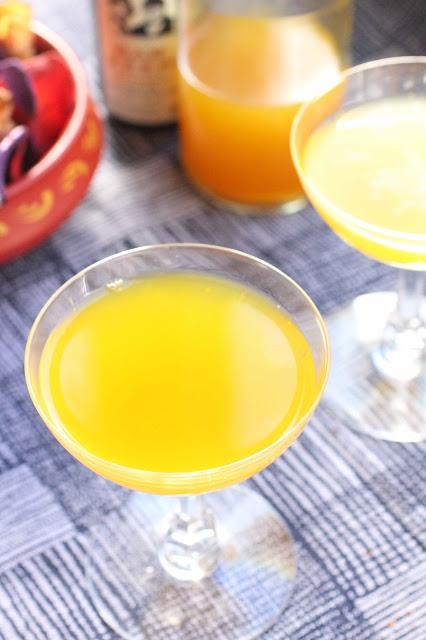 boisson petillante maison a l'orange et gingembre