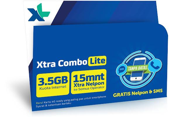 Cara transaksi XL combo lite di AEMITRA