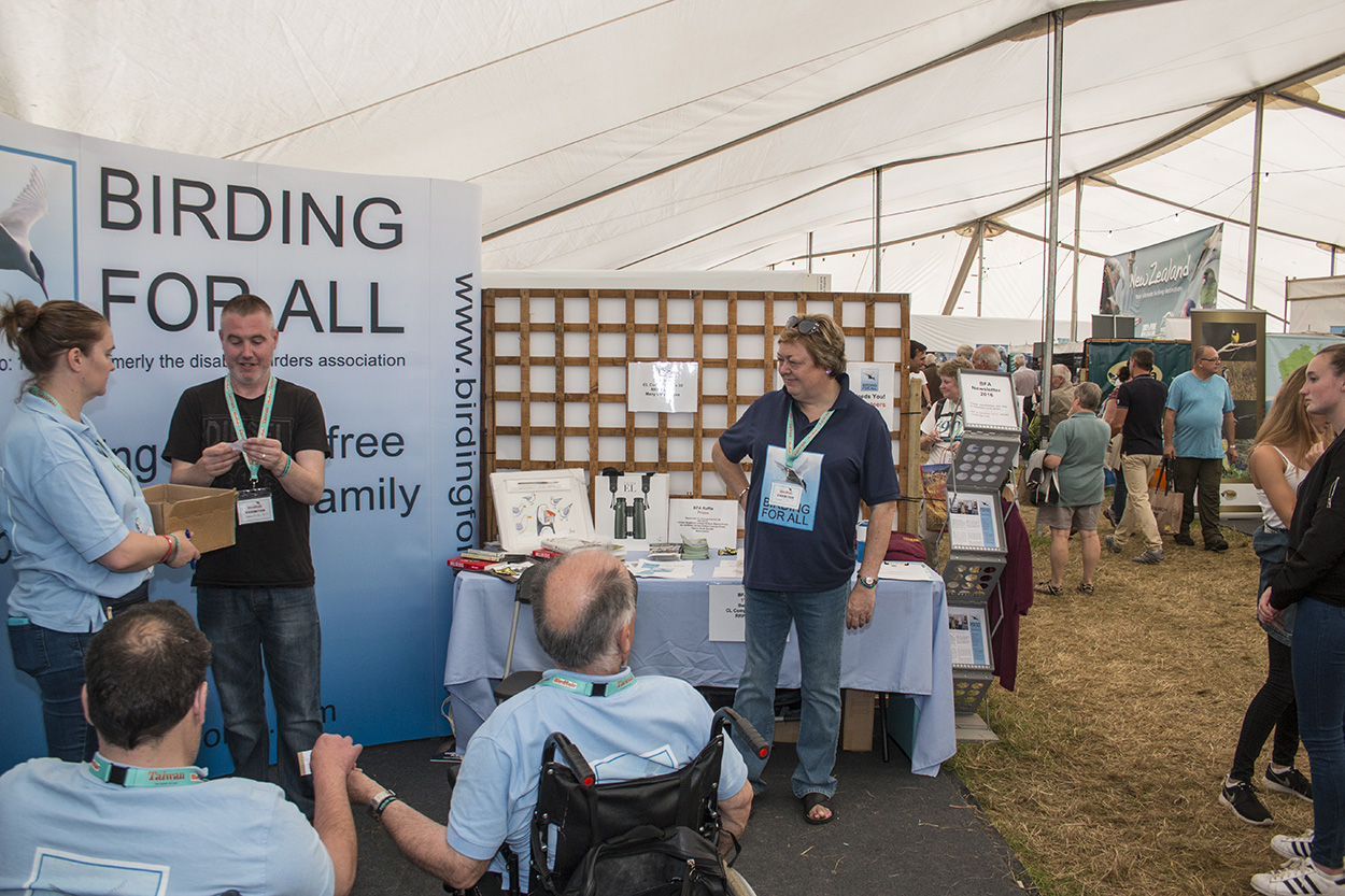 Birdfair 2016 - Our Raffle Draw