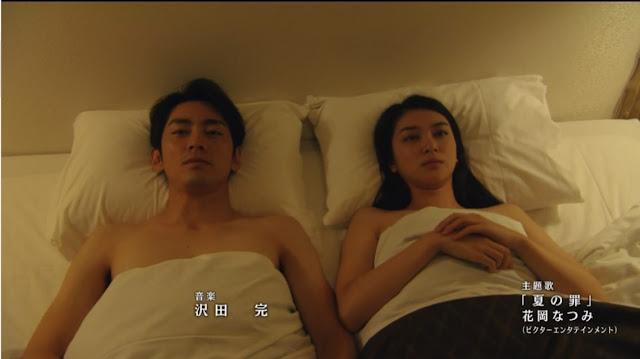 主人公がベッドを共にしている場面
