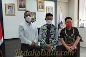 Bupati Franky Wongkar Berkunjung Kemendagri Membahas Masalah Mutasi Jabatan