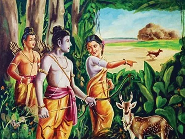 Ramayana Chapter 24- Maricha Manifest as a Golden Deer
