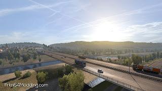 ets 2 realistic graphics mod v2.3.1 screenshots 3