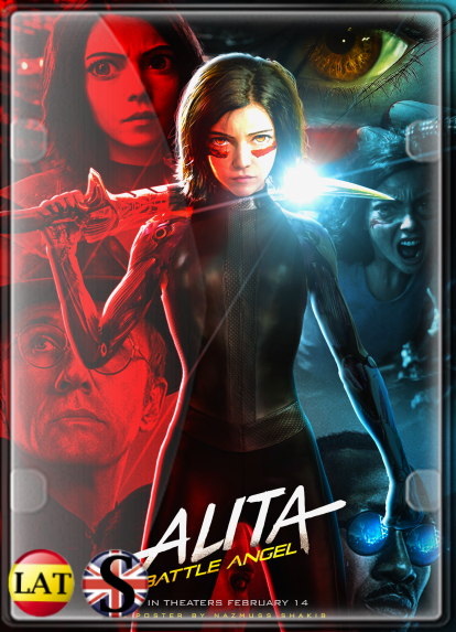 Alita: La Última Guerrera (2019) HD 720P LATINO/INGLES