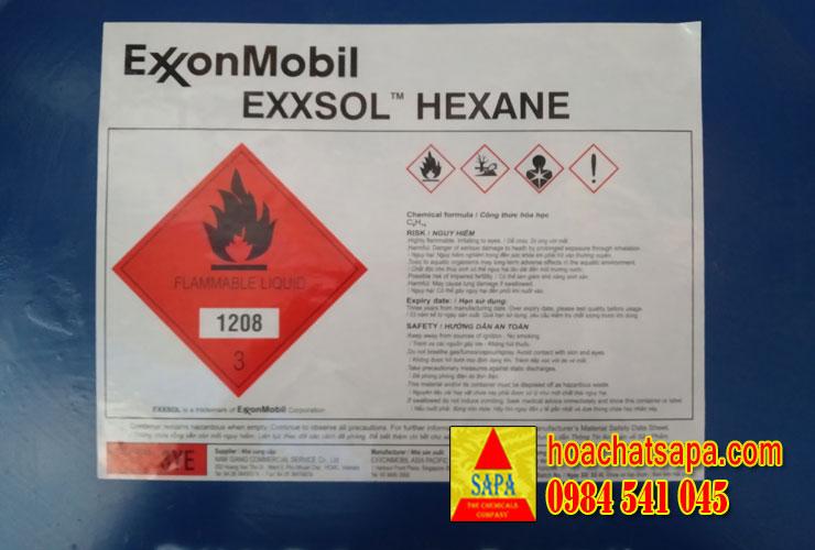 Dung môi Exxsol n-Hexane