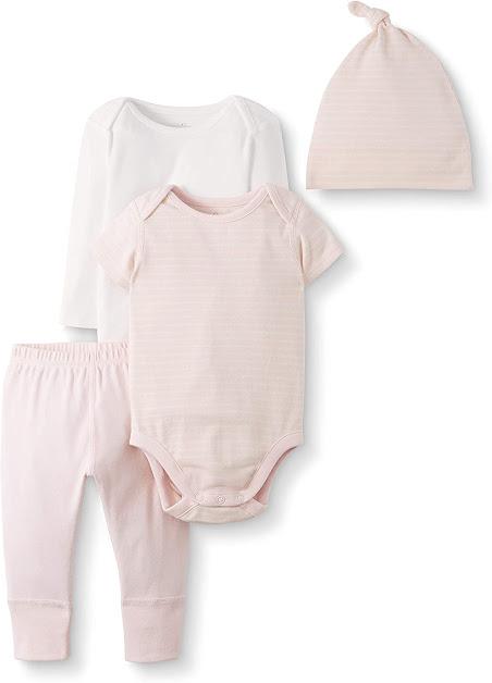 100% Organic Cotton Preemie Baby Girl Clothes
