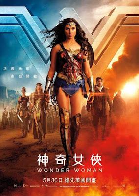 Poster Wonder Woman 2017 English HD 1080p 3D