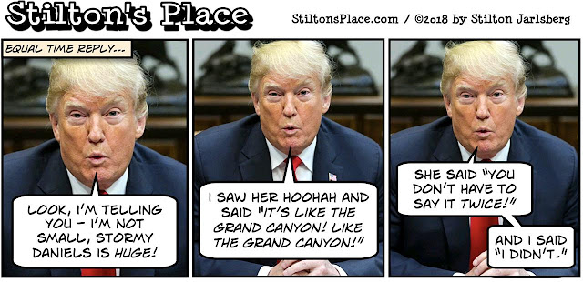 stilton's place, stilton, political, humor, conservative, cartoons, jokes, hope n' change, stormy daniels, mushroom, trump, game show, brett kavanaugh