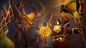 Warlock DOTA 2 Wallpaper, Fondo, Loading Screen