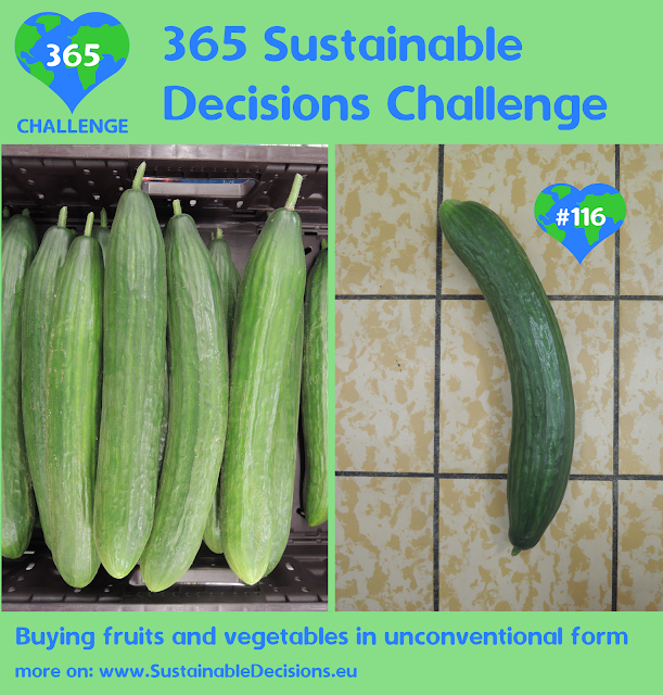 Buying fruits and vegetables in unconventional form reducing food waste