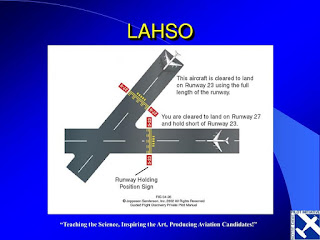 Land and Hold Short Operations (LAHSO)
