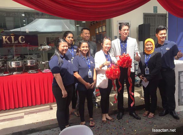 Grand opening of KLC English Language Centre