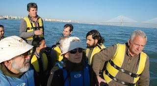 Excursión al  Parque Natural Bahía de Cádiz.. Grupo Local SEO-Sevilla.