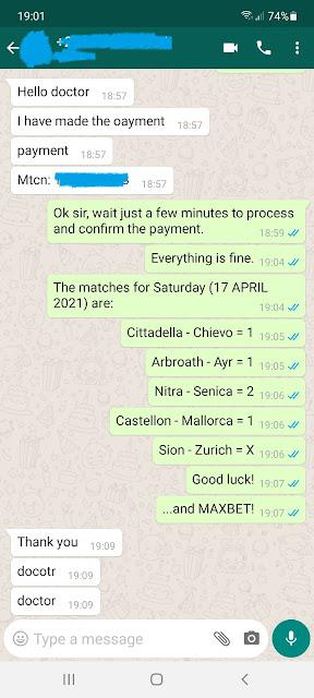 doctor1x2 ticket 17.04.2021