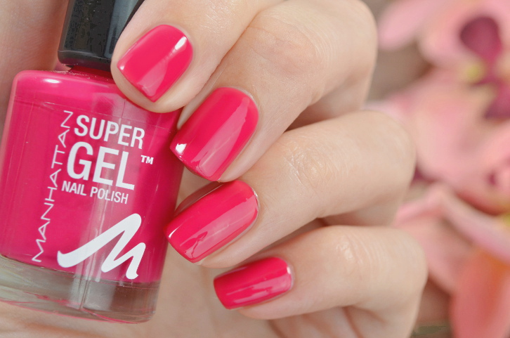 Manhattan Super Gel Nail Polish Cherry Hill