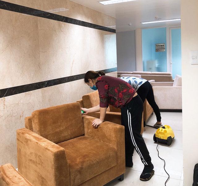 Giặt ghế sofa tại biên hòa