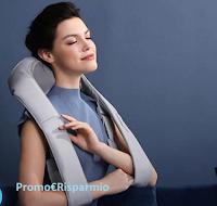 Logo Vinci gratis il Massaggiatore per spalle oCuddle indossato ai Grammy Awards