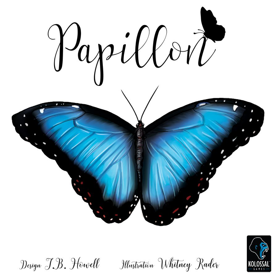 The Game Shelf: The Game Shelf Reviews:- Papillon