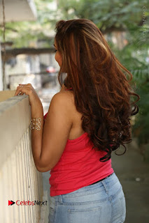 Tollywood Actress Ashwini Latest Stills in Ripped Jeans  0133.JPG