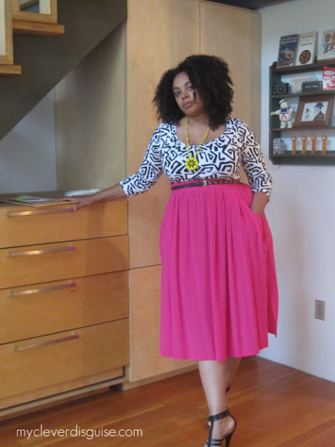 42 Back to School Outfits To Start The Year Off Right! thrifted thrift store black girl magic maxi skirt long sleeve shirt